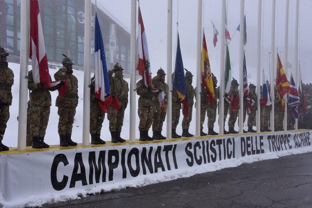Sestriere. Iniziati i Campionati sciistici delle Truppe Alpine (CaSTA) 2018