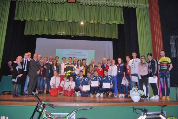 Giaveno ha premiato i suoi campioni dello Sport