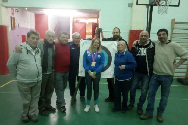 Giaveno festeggia l'oro conquistato da Aiko Rolando nel Tiro con l'Arco
