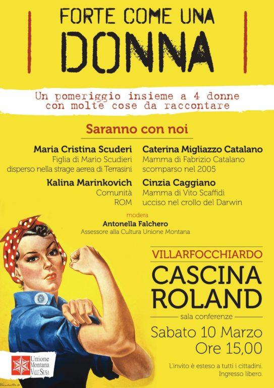 Valsusa: Festa della Donna a Villar Focchiardo