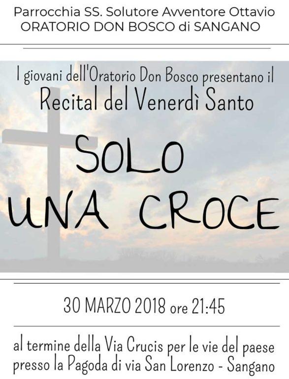 Sangano, il 30 marzo c'è il recital del Venerdì Santo
