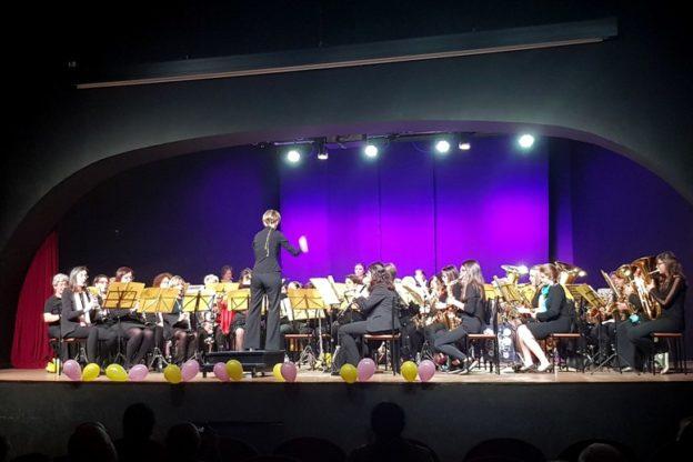 Ad Almese, l'8 marzo si è esibita una Banda Musicale di sole donne