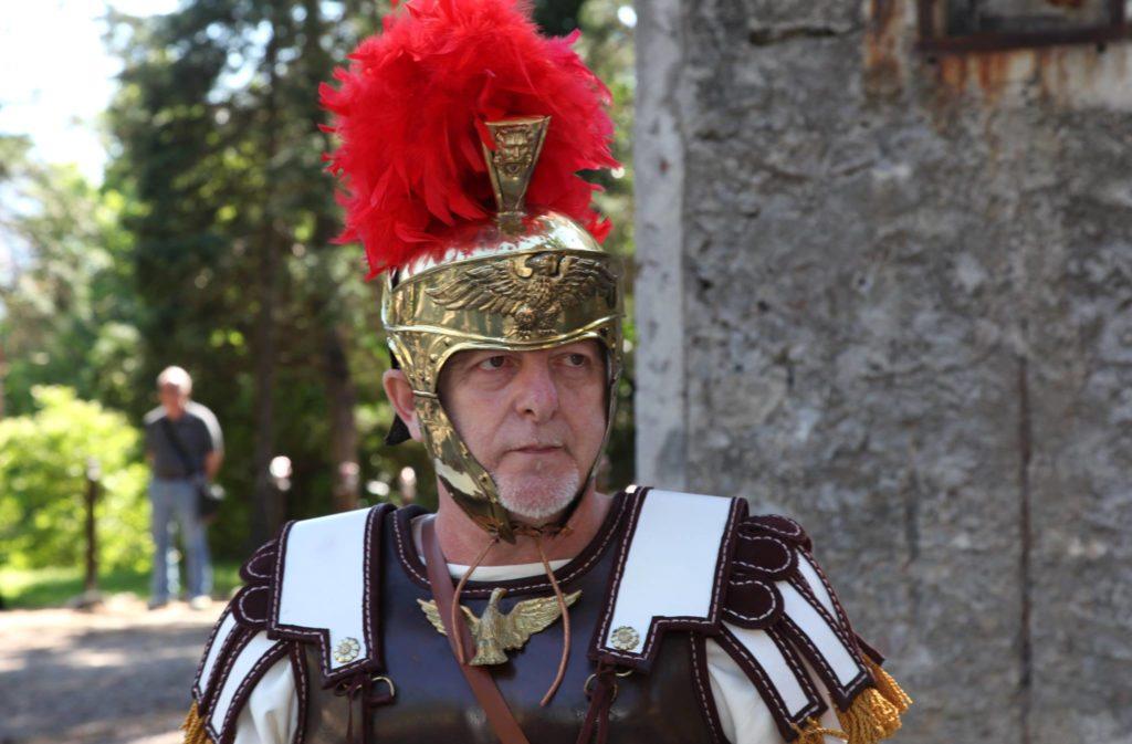 Il centurione Marco Berardinelli alla conquista di Roma