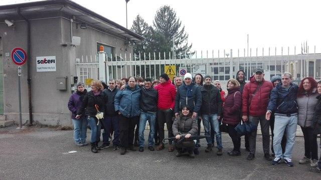 S.Antonino, sciopero contro i licenziamenti Sogefi