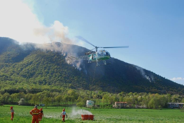 Gli A.I.B. di Caselette raccontano l'incendio sul Monte Musinè della scorsa settimana