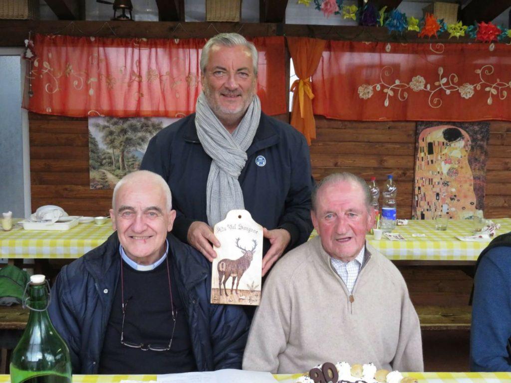 """Coazze e Giaveno hanno festeggiato i novant'anni di """"Pinin du Frainei"""""""