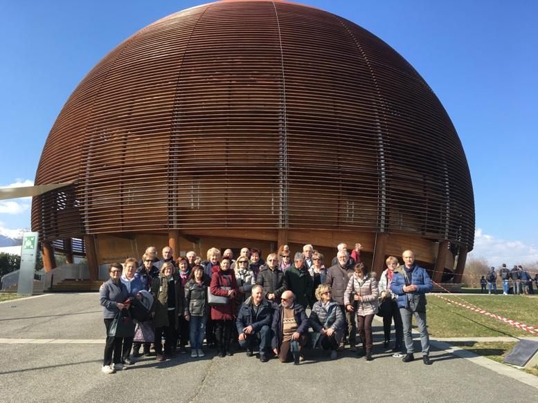 L'Unitre di Susa in visita ai laboratori del Cern di Ginevra