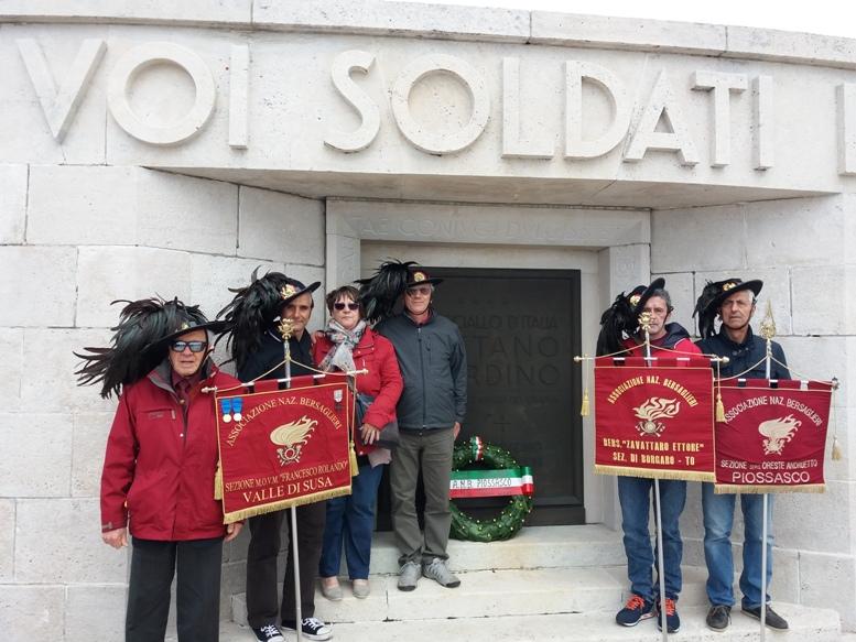 I Bersaglieri della Val di Susa in raduno a San Donà di Piave