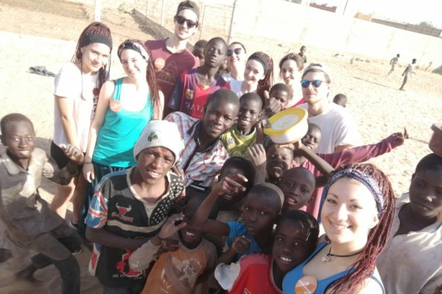 """Gara di solidarietà di otto giovani valsusini per aiutare i """"talibè"""" del Senegal"""