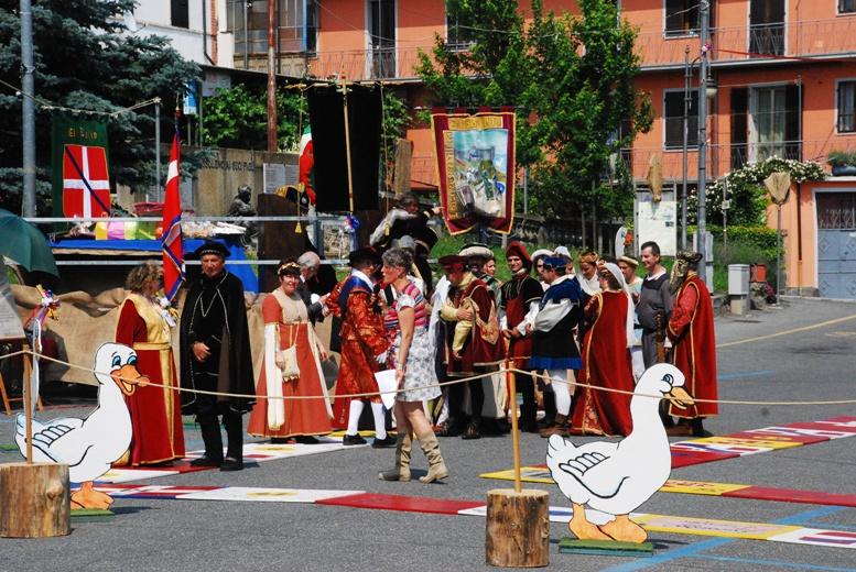 A Bussoleno, sabato 2 giugno, torna la Festa di Primavera (con il Gioco dell'Oca vivente)
