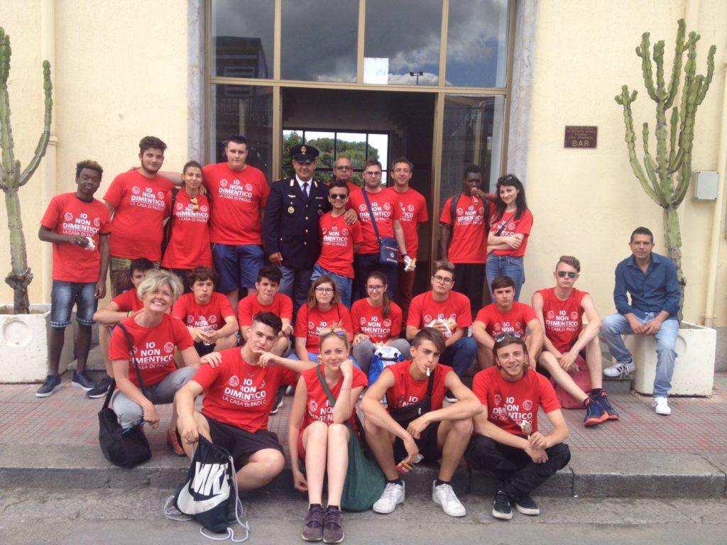 L'Istituto Ferrari di Susa a Palermo per ricordare le stragi di Capaci e Via D'Amelio