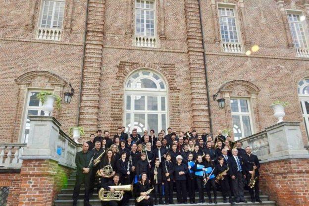 La Società Filarmonica di Bussoleno incanta la Reggia di Venaria