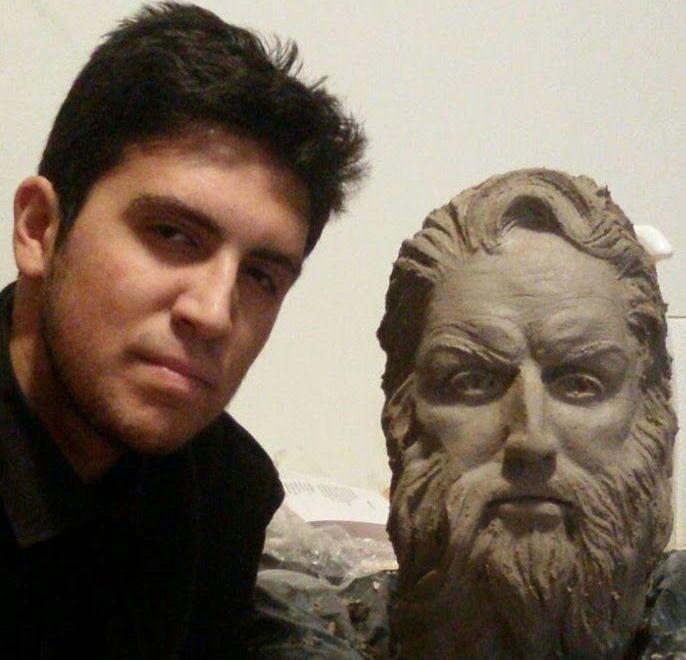 L'Ulisse di Andi Malku, allievo del Norberto Rosa di Bussoleno, selezionato per la seconda biennale dei licei artistici