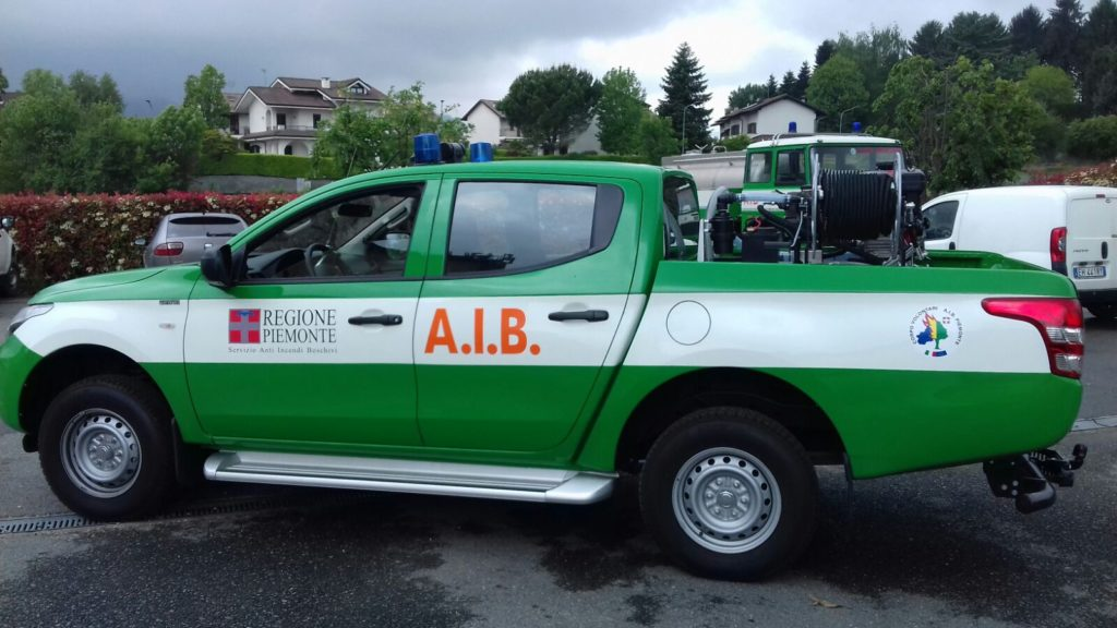 Un nuovo mezzo per gli Aib di Valgioie