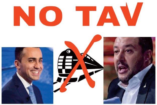Salvini e Di Maio seppelliscono la Torino-Lione