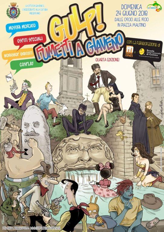 """Domenica 24 giugno c'è """"Gulp! Fumetti a Giaveno"""""""