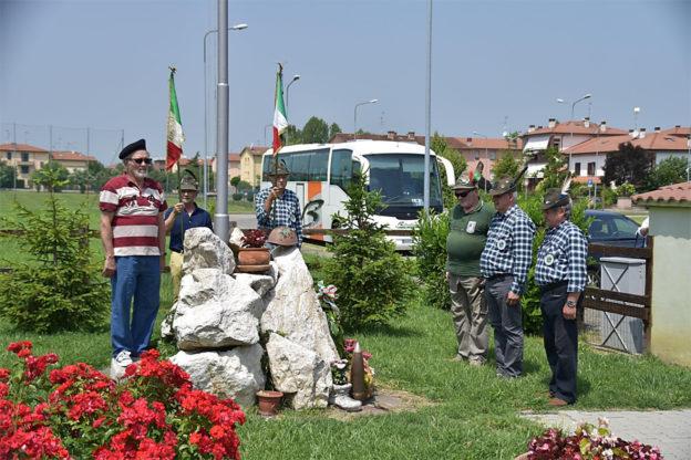 Gli Alpini di Avigliana visitano i luoghi di Giuseppe Verdi