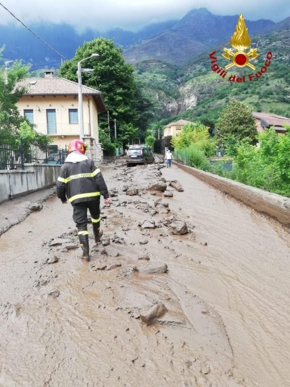 """Bussoleno, un centinaio le persone evacuate a causa della frana. Il sindaco: """"È un disastro"""""""