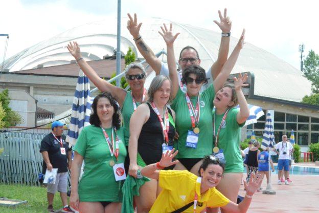 Dagli Special Olympics la sanganese Martina Cipolla torna a casa con tre medaglie