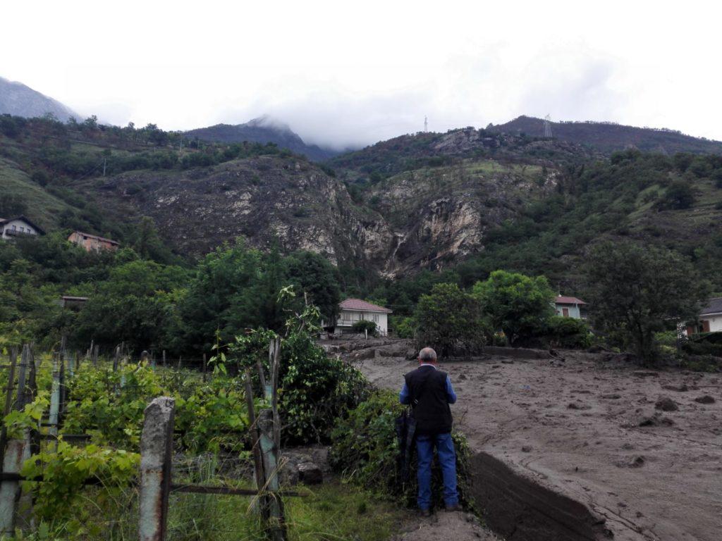 Bussoleno, Chiamparino chiede lo stato di emergenza. Casolati e Caffaratto (Lega) visitano i luoghi colpiti dalla frana