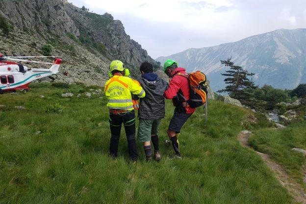 Coazze, escursionista si infortuna scendendo dal Monte Robinet