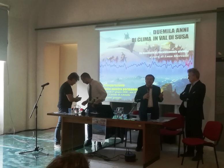 Una mostra ripercorre la storia climatica della Valle di Susa