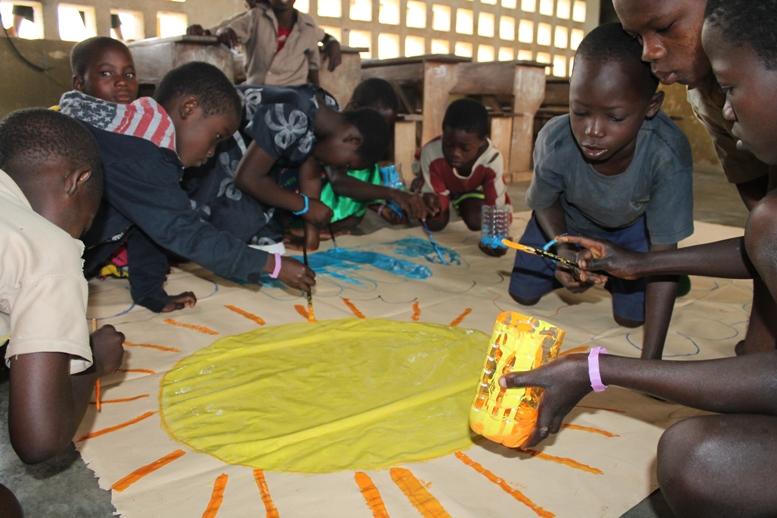 Don Pierluigi Cordola in Africa con l'associazione Tengo al Togo