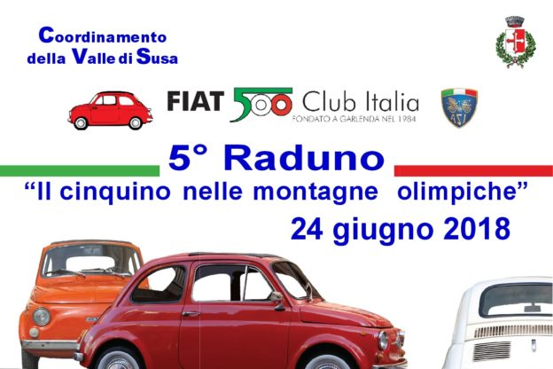 Una miriade di Fiat 500 è pronta a invadere la Valle di Susa