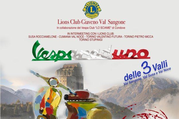 Domenica 10 giugno è atteso uno sciame di Vespe a Giaveno