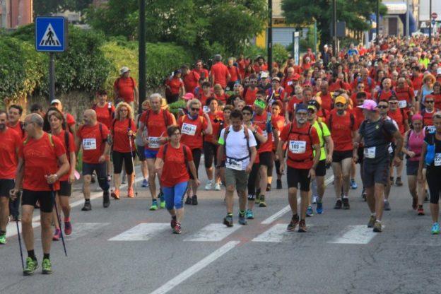 Ricca di fascino e bella tosta: il grande successo della prima maratona sulla Via Francigena