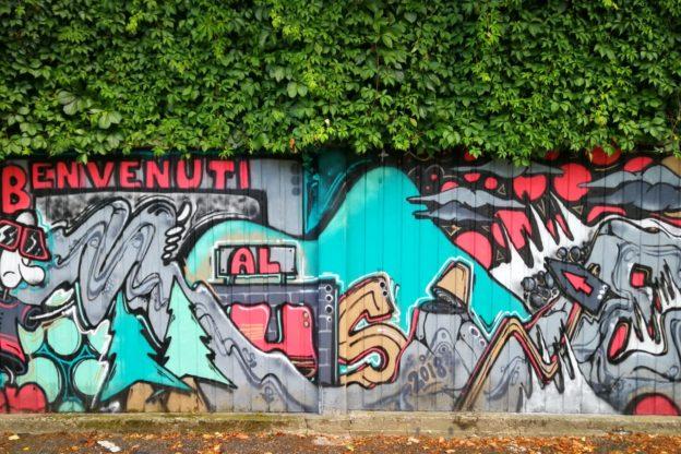 Sfida aperta per i murales sotto Sant'Abaco a Caselette