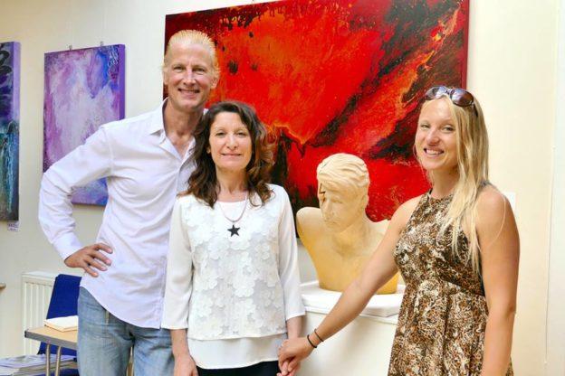 Le opere della tranese Maria Primolan in mostra a Londra