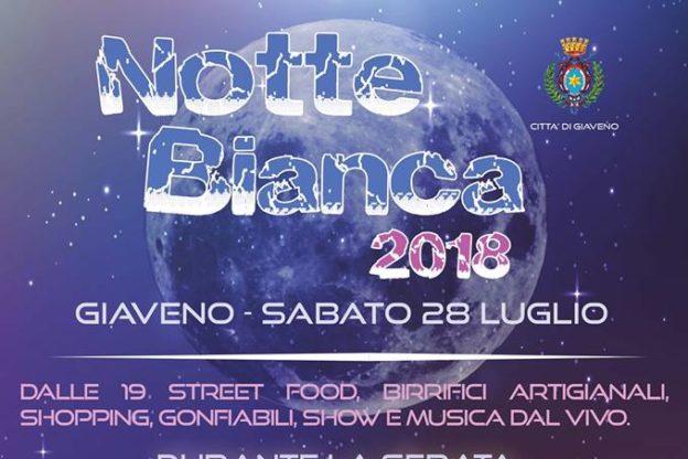 Giaveno è pronta a ospitare la Notte Bianca 2018