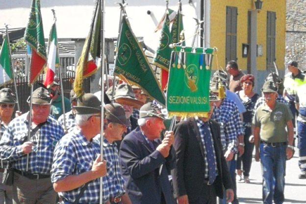 Alpini della Valsusa in festa per i 90 anni del Gruppo di San Giorio