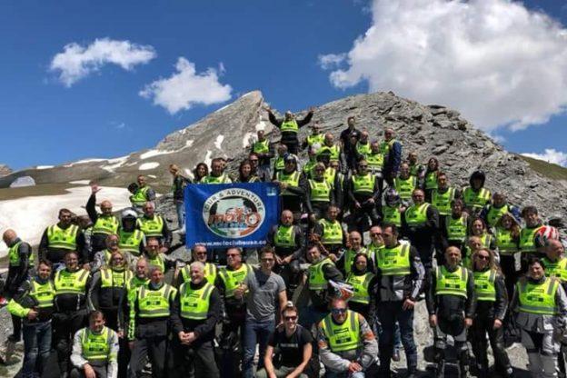 """Il Moto Club Susa Tour & Adventure in """"motogita"""" sul Monte Bianco"""
