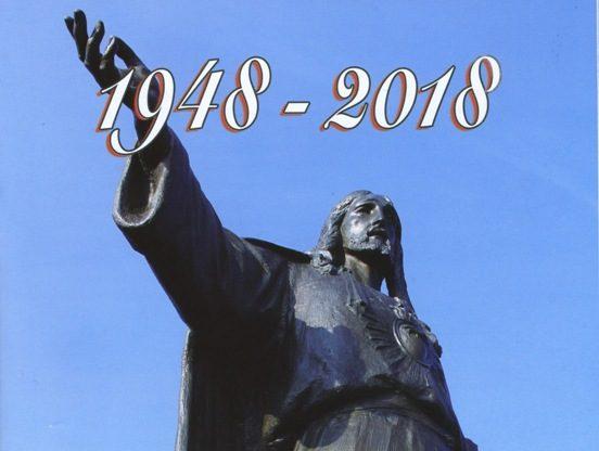 Un libro celebra i 70 anni del Monumento al Sacro Cuore di Rocca Bianca di Meana
