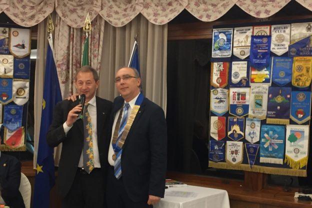 Rotary Club Susa e Val Susa, la presidenza passa a Mario Cagliero