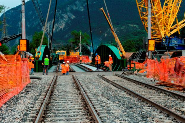 Lavori spettacolari in Val di Susa: Oulx ha un nuovo ponte sulla Dora Cesana