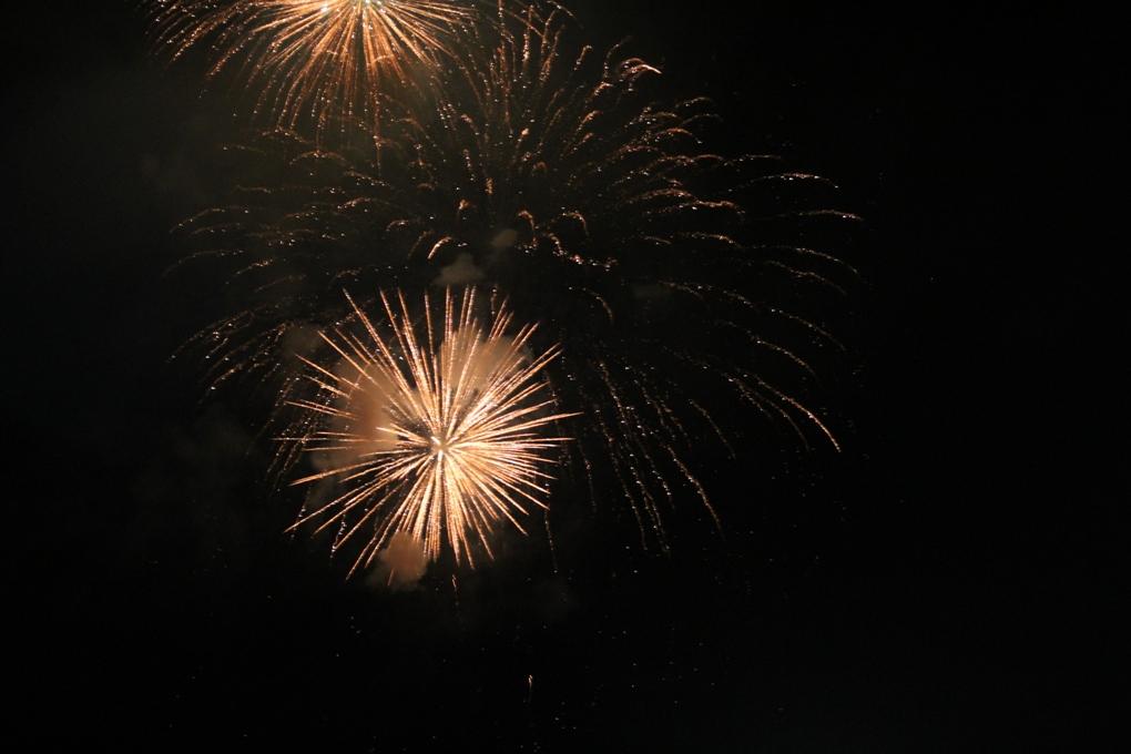 I fuochi d'artificio hanno chiuso la Festa di San Lorenzo a Giaveno