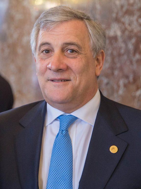 Susa, mercoledì 8 agosto il presidente del Parlamento europeo Tajani al Napoleon