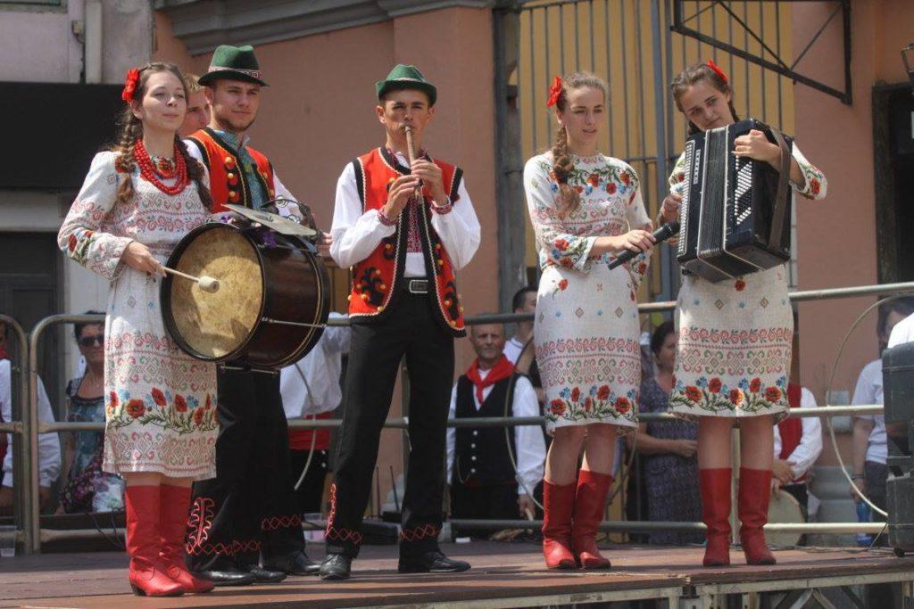 Susa, Festival del Folklore funestato dai temporali