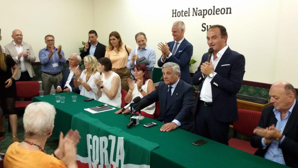 """Susa: Tajani, Forza Italia: """"Tav, opera strategica e fondamentale per il futuro"""""""