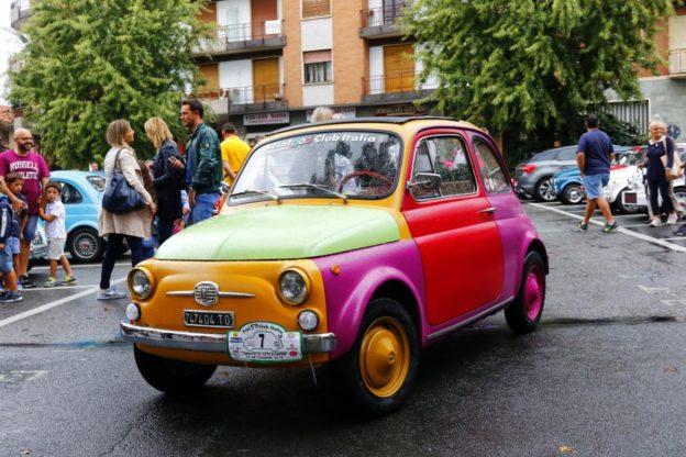 Giaveno ha celebrato le mitiche Fiat 500. Fotogallery di Fotografica Sestriere