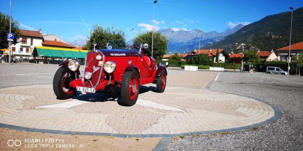 Esposizione auto d'epoca di Motor Vej d'la Valsusa