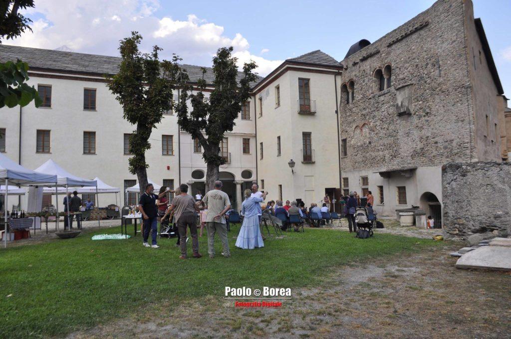 """Susa, un successo l'""""Archeologia da Gustare"""" di domenica 23 settembre"""