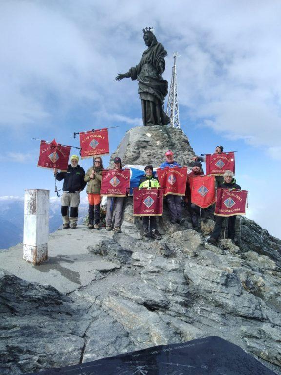 L'Avis di Susa ancora una volta in vetta al Monte Rocciamelone