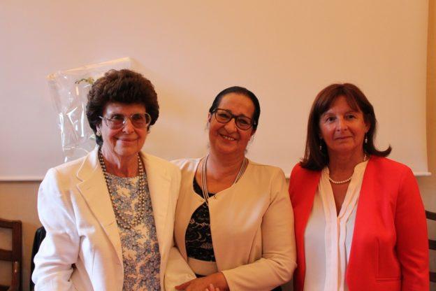 Le tre presidi: da sinistra, Maria Laura Tizzani, Carmelina Venuti ed Enrica Bosio