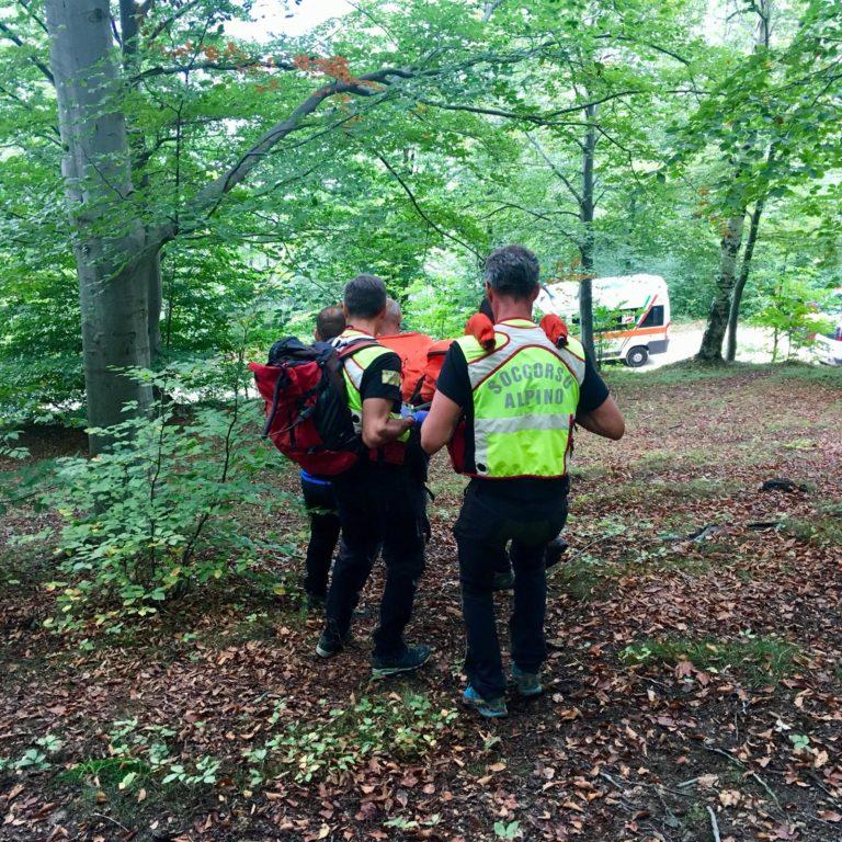 Recuperato il corpo del cercatore di funghi morto al Colle Braida