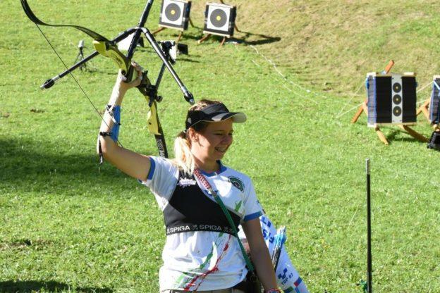 Tiro con l'Arco, ancora una medaglia d'oro per la giavenese Aiko Rolando
