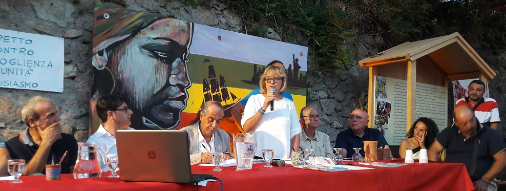 La valsusina Chiara Sasso cittadina onoraria di Riace